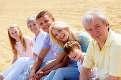 Family rest Royalty Free Stock Image