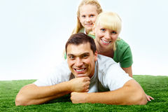 Family rest Royalty Free Stock Images
