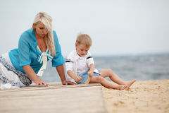 Family rest Stock Photography