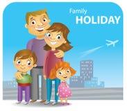 Family rest Stock Image