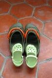 Family sandals Stock Photos
