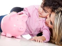 Family savings Royalty Free Stock Photography