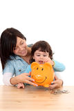 Family savings Stock Photography