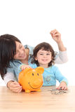 Family savings Royalty Free Stock Image