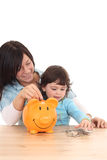 Family savings Royalty Free Stock Photos