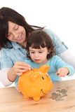 Family savings Stock Image