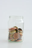 Family savings jar Stock Photos