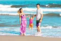 Family of the sea Royalty Free Stock Photo
