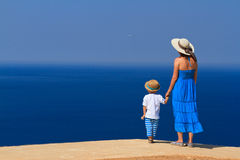 Family on sea vacation Royalty Free Stock Photo