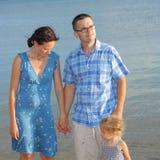 Family at sea Royalty Free Stock Photography