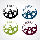 The family seals Stock Images