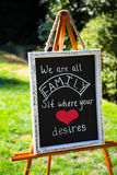 Family Seating Wedding Sign