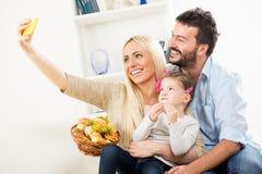 Family Selfy Royalty Free Stock Image