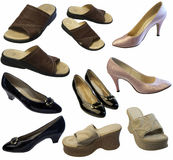 Family Shoes Royalty Free Stock Photos