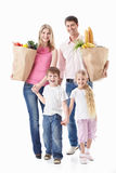 Family shopping Royalty Free Stock Photos