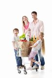 Family Shopping Royalty Free Stock Photos