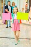 Family shopping. Stock Image