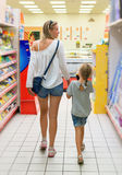 Family shopping. Royalty Free Stock Photos