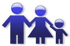Family sign Stock Photos