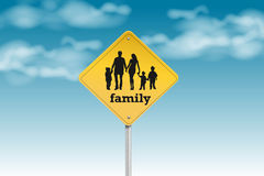 Family sign Stock Photos
