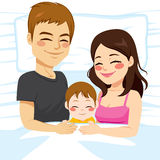 Family Sleeping Together Royalty Free Stock Photography