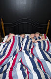 Family sleeps Royalty Free Stock Photography