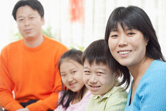 Family Smiling Stock Image