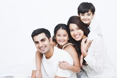 Family Smiling Royalty Free Stock Image