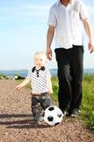 Family Soccer Royalty Free Stock Image