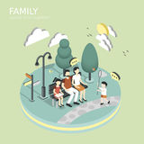 Family spend time together concept Stock Photo