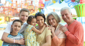 Family spending time Stock Image