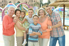 family spending time Stock Images