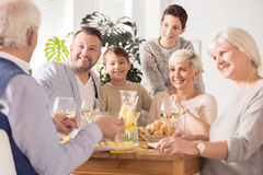 Family spending time together Stock Photos