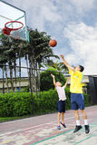 Family Sport Royalty Free Stock Photo