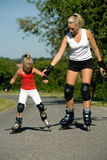 Family sport Stock Image