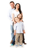 Family standing together Stock Photo