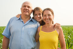 Family on summer Royalty Free Stock Photo
