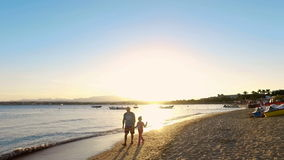 Family summer holiday, enjoy your life stock video
