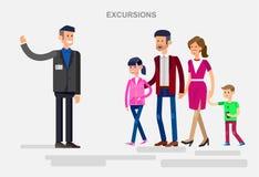 Family summer holiday travel Royalty Free Stock Photos
