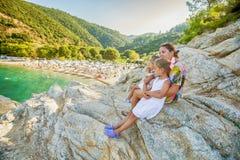 Family summer travel Royalty Free Stock Photo