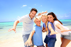 Family summer vacation Royalty Free Stock Photo
