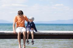 Family summer vacation Stock Image