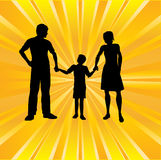 Family Sunburst Royalty Free Stock Photography