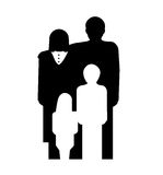 Family symbol Royalty Free Stock Photos