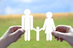 Family symbol Royalty Free Stock Photos