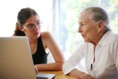 Family talk Royalty Free Stock Image