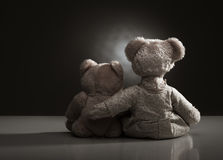 Family of teddy bears Royalty Free Stock Image