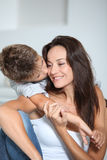 Family tenderness Royalty Free Stock Photography