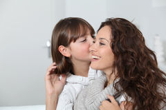Family tenderness Stock Photo