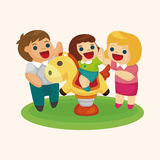Family theme elements Royalty Free Stock Images